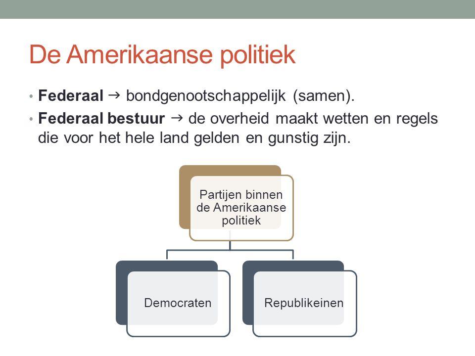 De Amerikaanse politiek Federaal  bondgenootschappelijk (samen).
