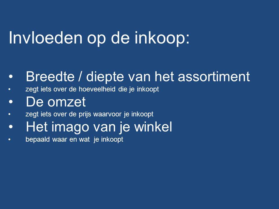 Inkoopkanalen: Veiling Cash and carry Groothandel Grossier Beurs Rechtstreeks bij de fabrikant In eigen beheer.