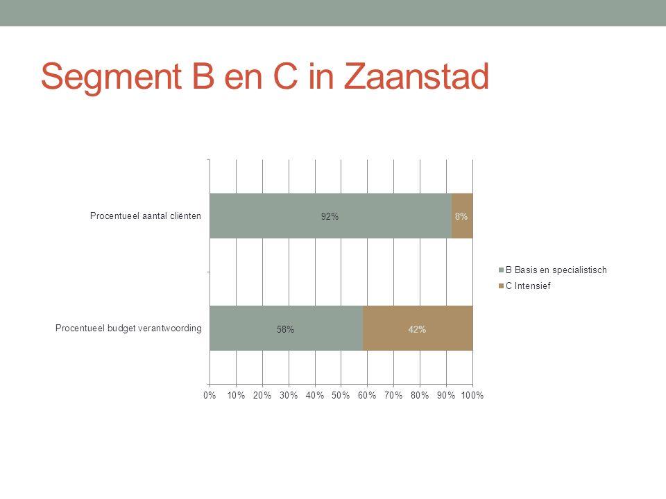 Segment B en C in Zaanstad