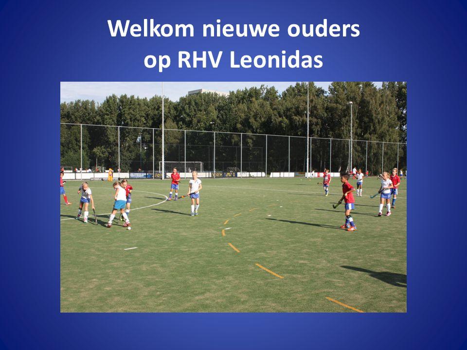 Welkom nieuwe ouders op RHV Leonidas