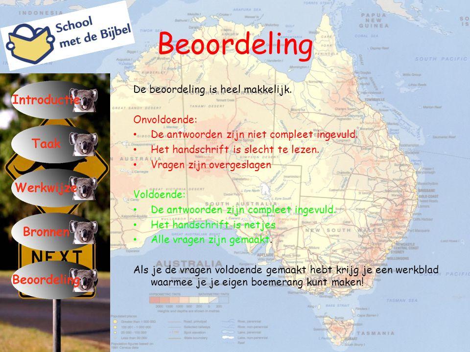 Australië – Down Under Hieronder zie je een wereldkaart.