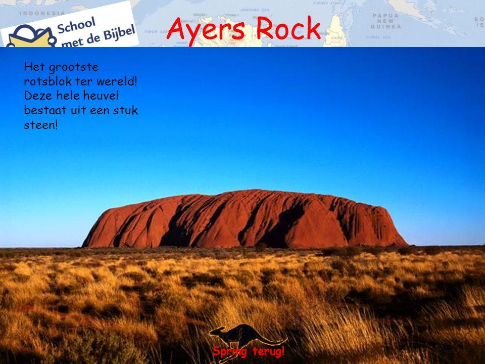 Het grootste rotsblok ter wereld! Deze hele heuvel bestaat uit een stuk steen!