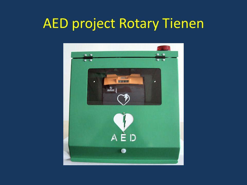 AED project Rotary Tienen PARKLIFE Dank U