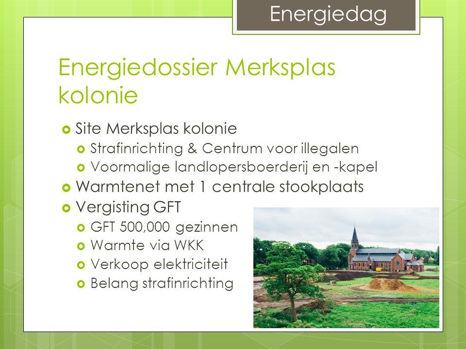 Energiedossier Merksplas kolonie  Site Merksplas kolonie  Strafinrichting & Centrum voor illegalen  Voormalige landlopersboerderij en -kapel  Warm