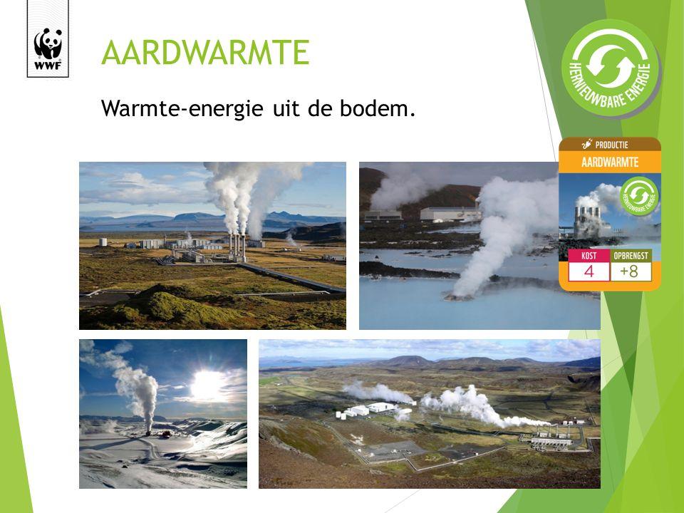 AARDWARMTE Warmte-energie uit de bodem.