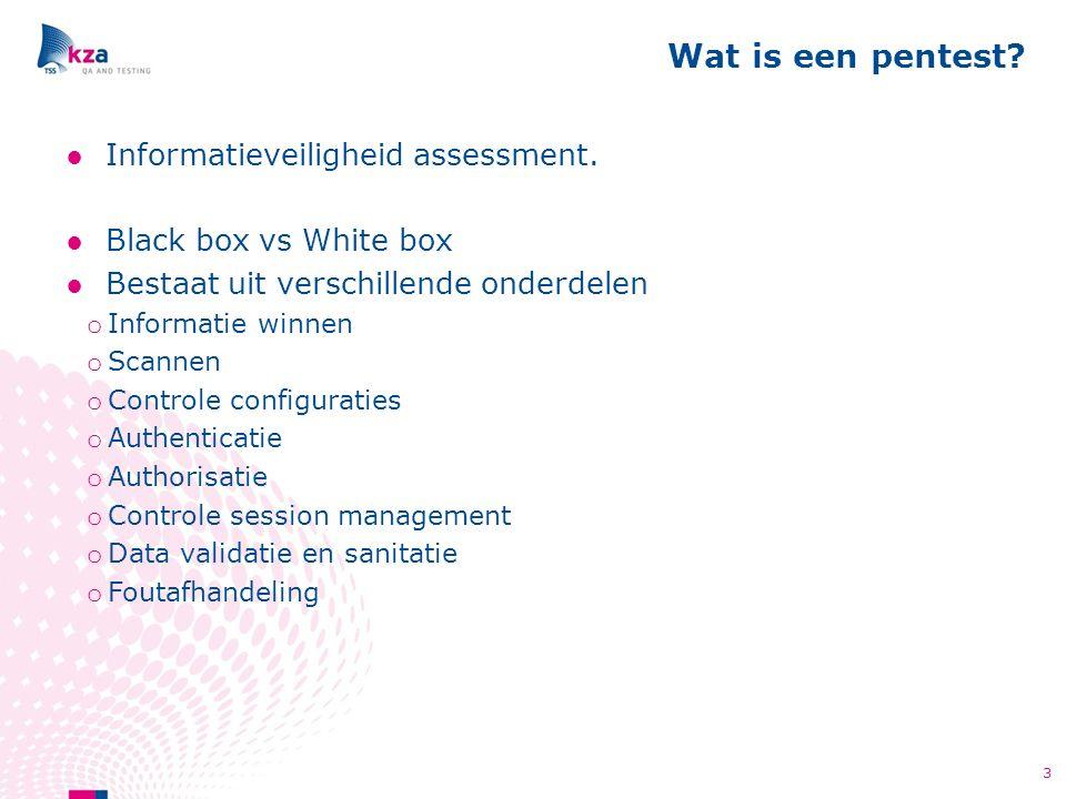 ●Informatieveiligheid assessment.