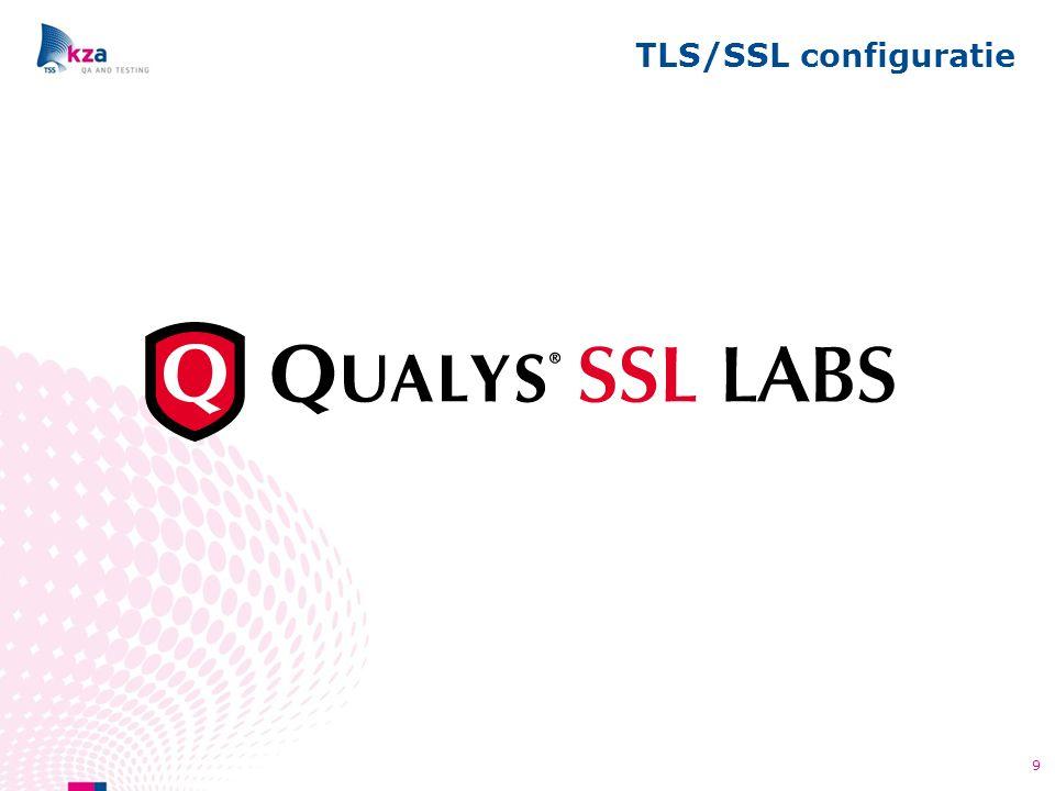 TLS/SSL configuratie 9