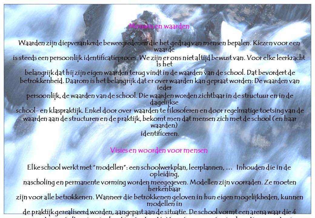 25 oktober 2006Taborschool Sint-Maria-Aalter en Aalter-Brug 14 4.0Overkoepelende doelstellingen 0.4Kinderen leven waardengericht.