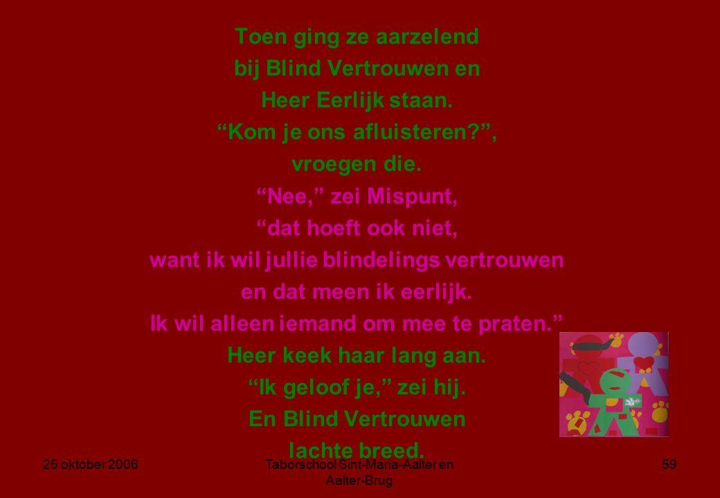 25 oktober 2006Taborschool Sint-Maria-Aalter en Aalter-Brug 58