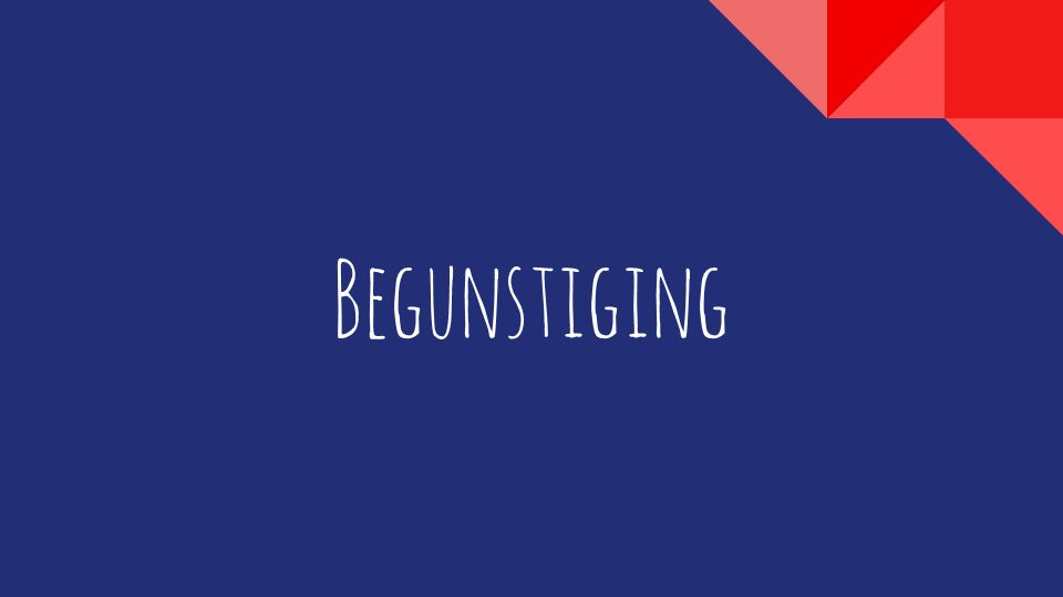 Begunstiging
