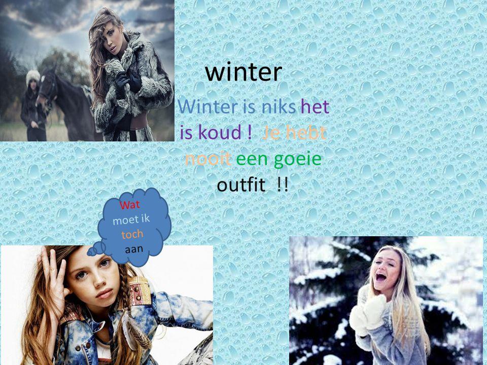 Mode 2 winter Wat heb ik leuke kleren Honden hebben ook winterkleding nodig