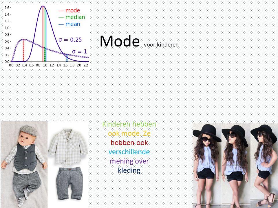 Mode 3 Mode voor de herfst Je kan in de herfst allerlei kleren aan doen, soms winterkleren en soms zomerkleren.