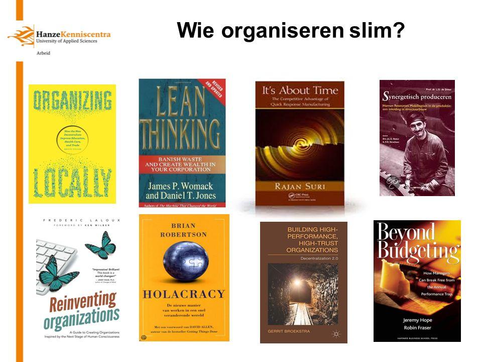 Decentraliseren Slim organiseren, de organisatie van de organisatie28-11-2013