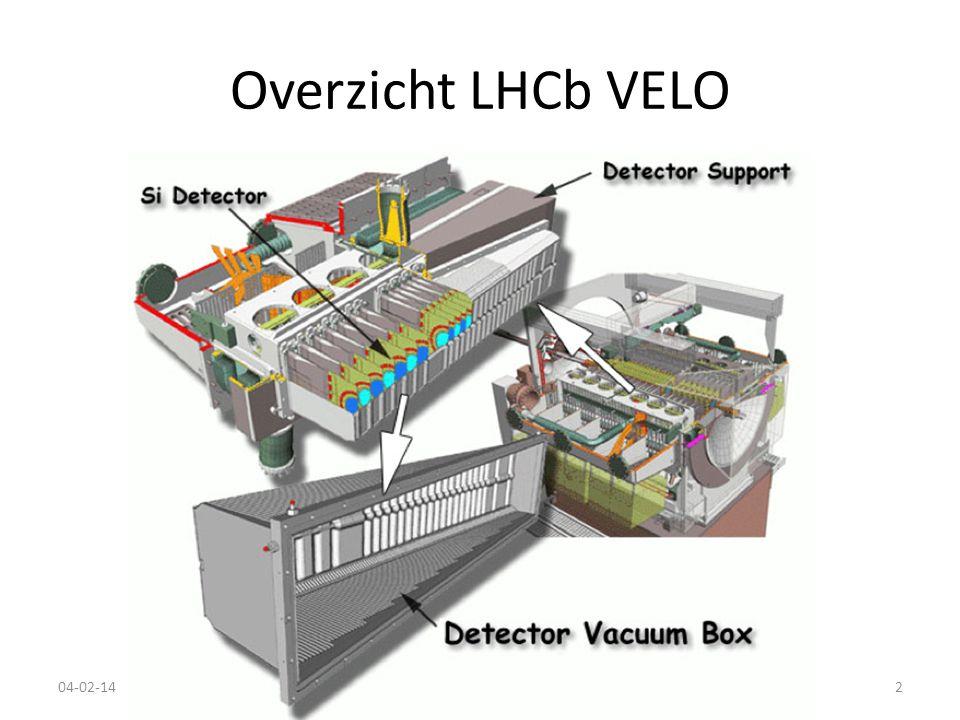 Overzicht LHCb VELO 04-02-14Nikhef Review2