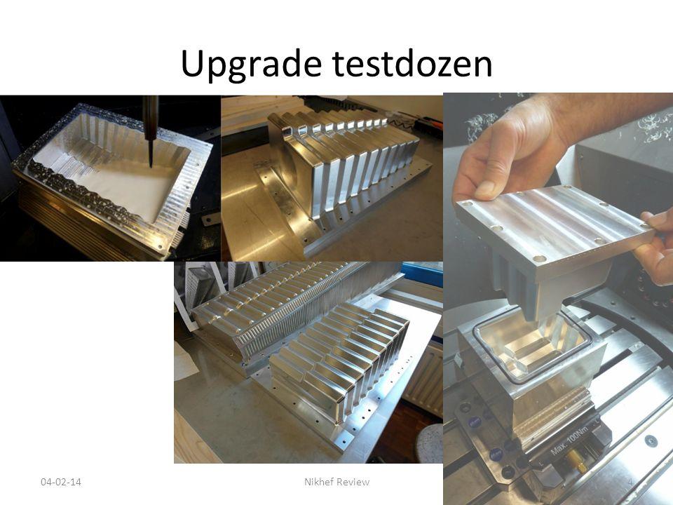 Upgrade testdozen 04-02-14Nikhef Review4