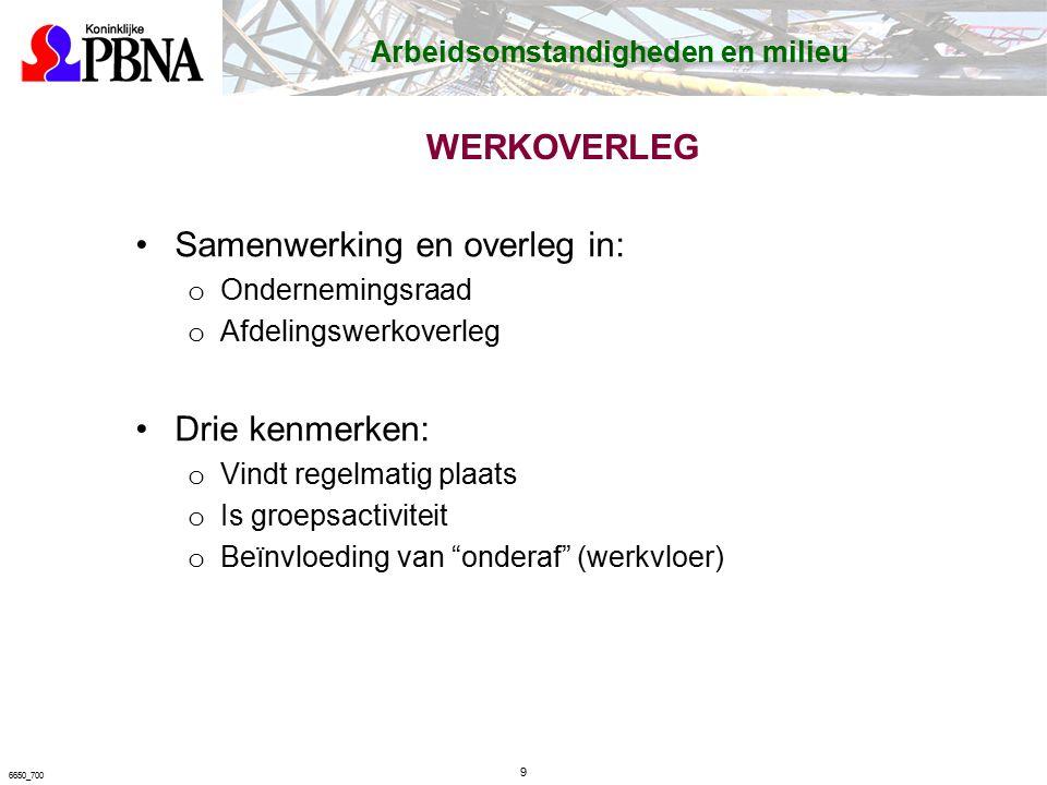 90 6650_700 Algemene werkplekeisen Hoofdstuk 8 Algemene werkplekeisen