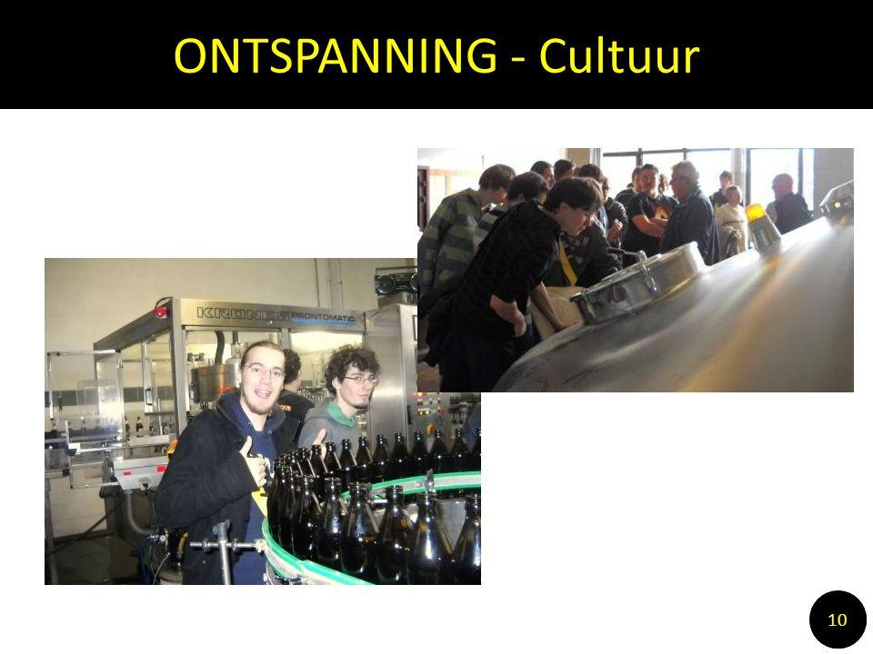 ONTSPANNING - Cultuur 10