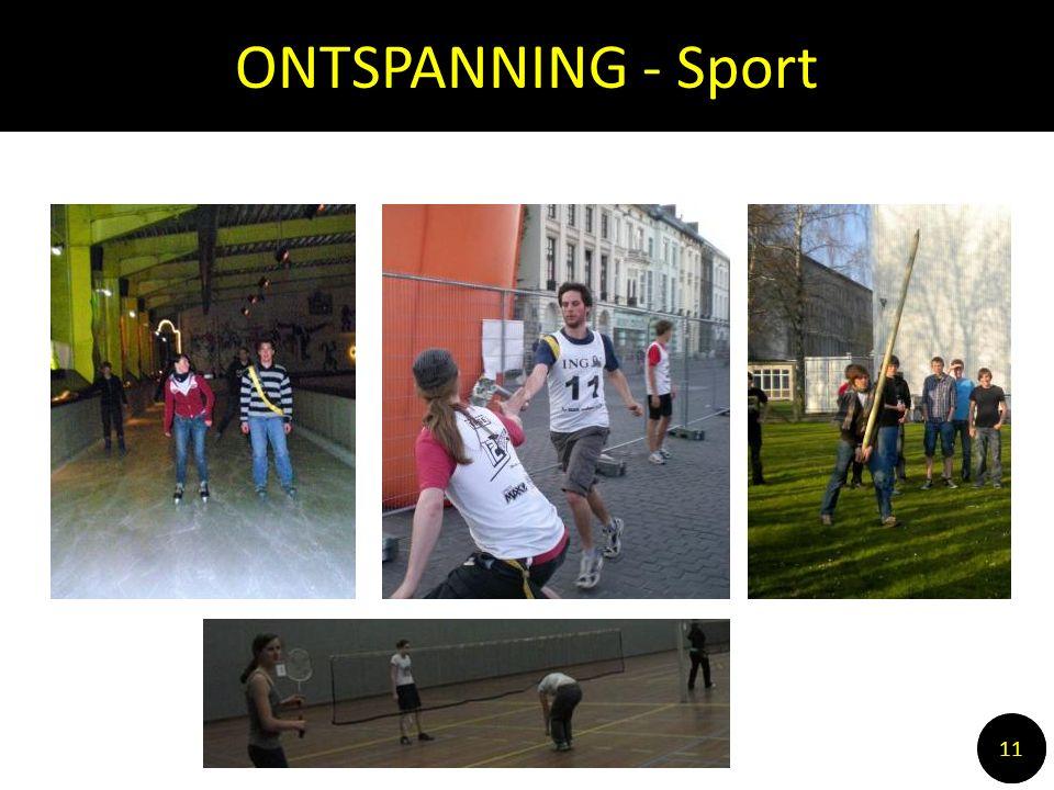 ONTSPANNING - Sport 1010 11
