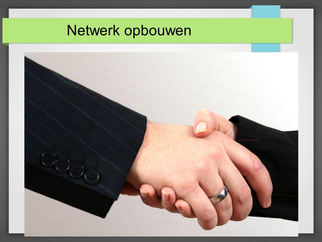 Netwerk opbouwen