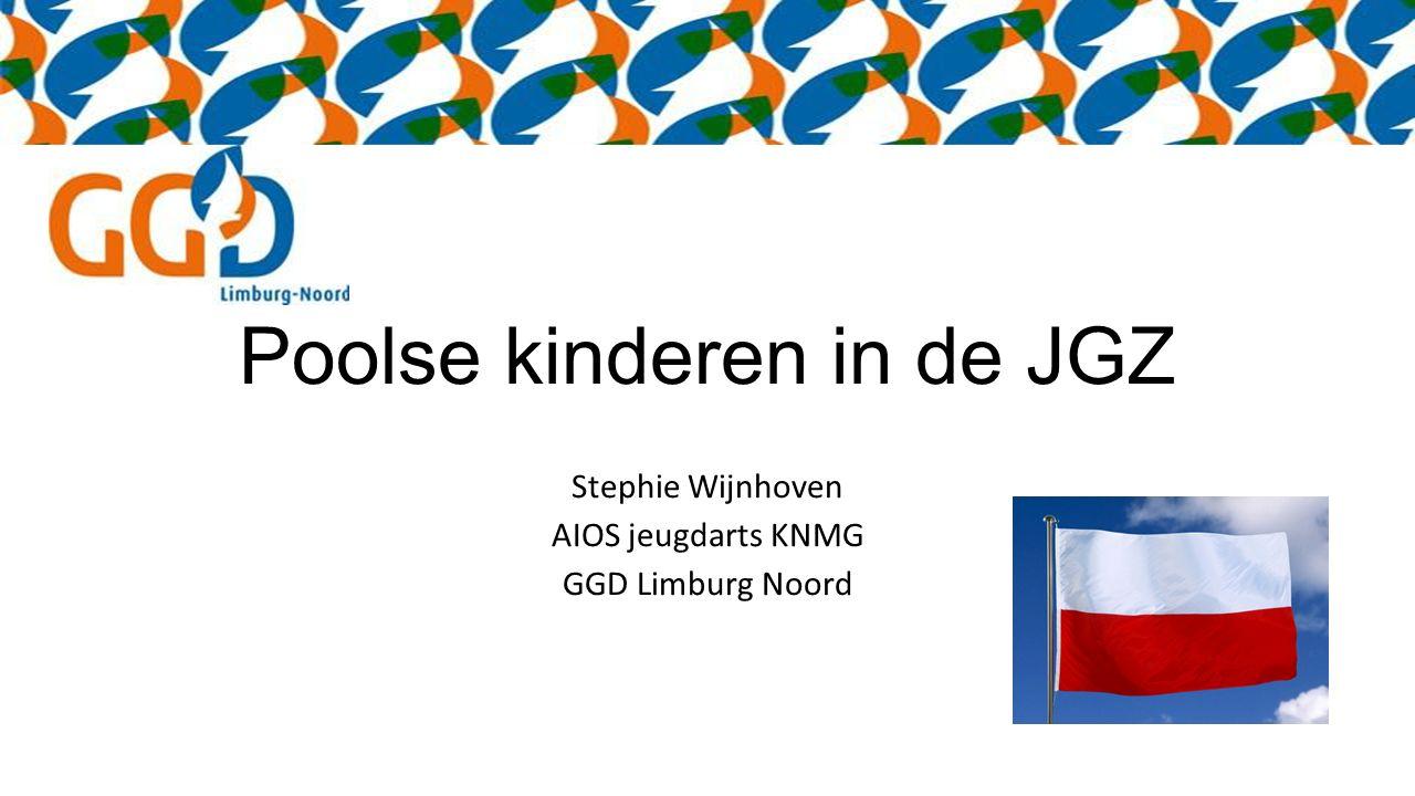 Poolse kinderen in de JGZ Stephie Wijnhoven AIOS jeugdarts KNMG GGD Limburg Noord