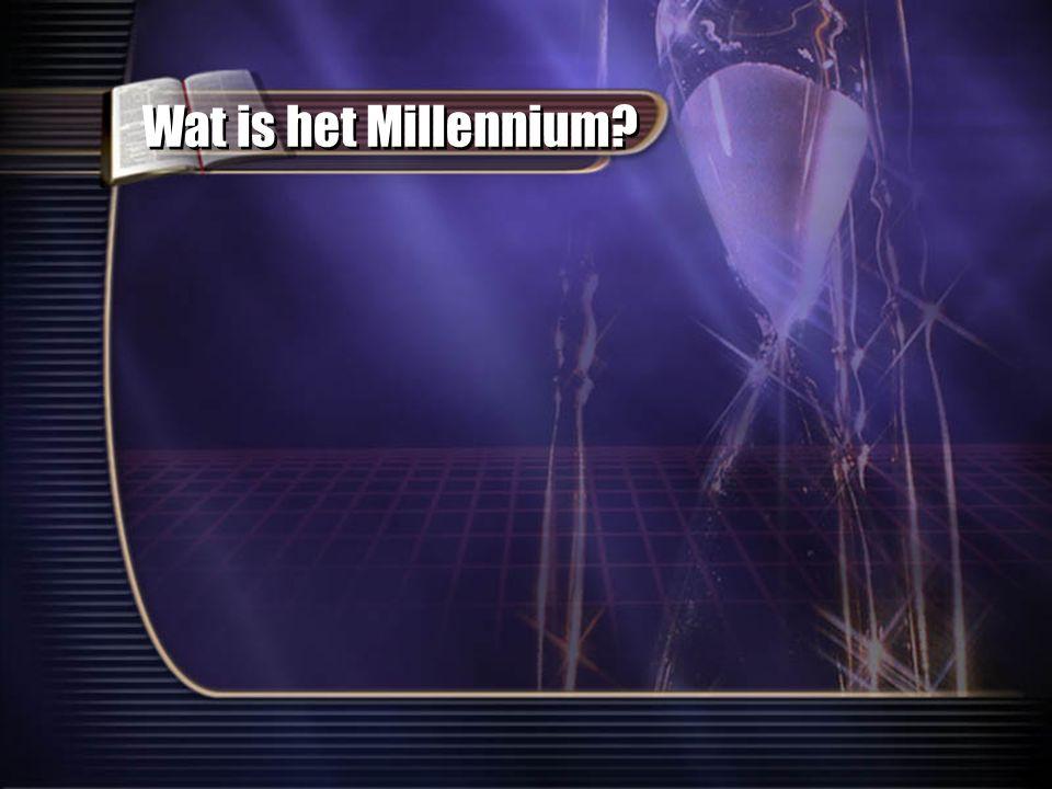 Wat is het Millennium?