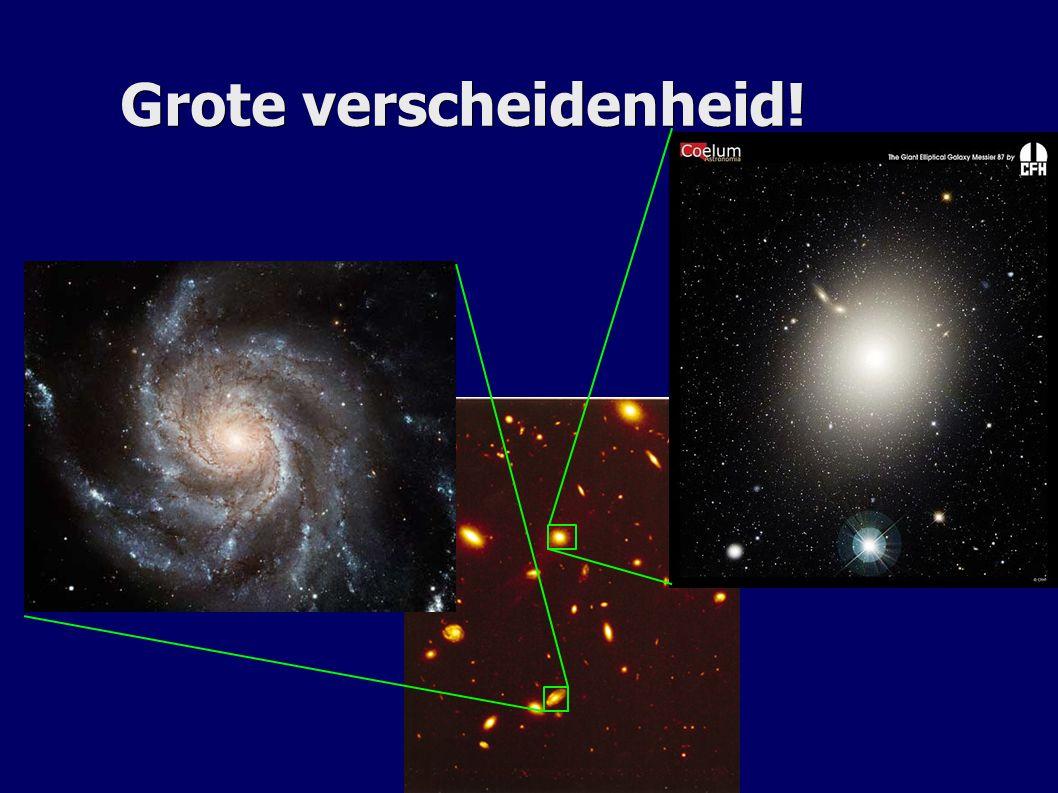 De vorming van structuur Hoe komt het heelal van hier Naar hier? Naar hier?