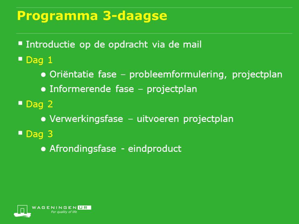Programma: 2 Lijnen wisselen elkaar af  Inhoudelijke lijn: werken aan een inhoudelijk product  Proceslijn: door reflectie achteraf (persoonlijk actieplan) ● Wat hebben we aan de proceskant gedaan tijdens dit onderdeel.