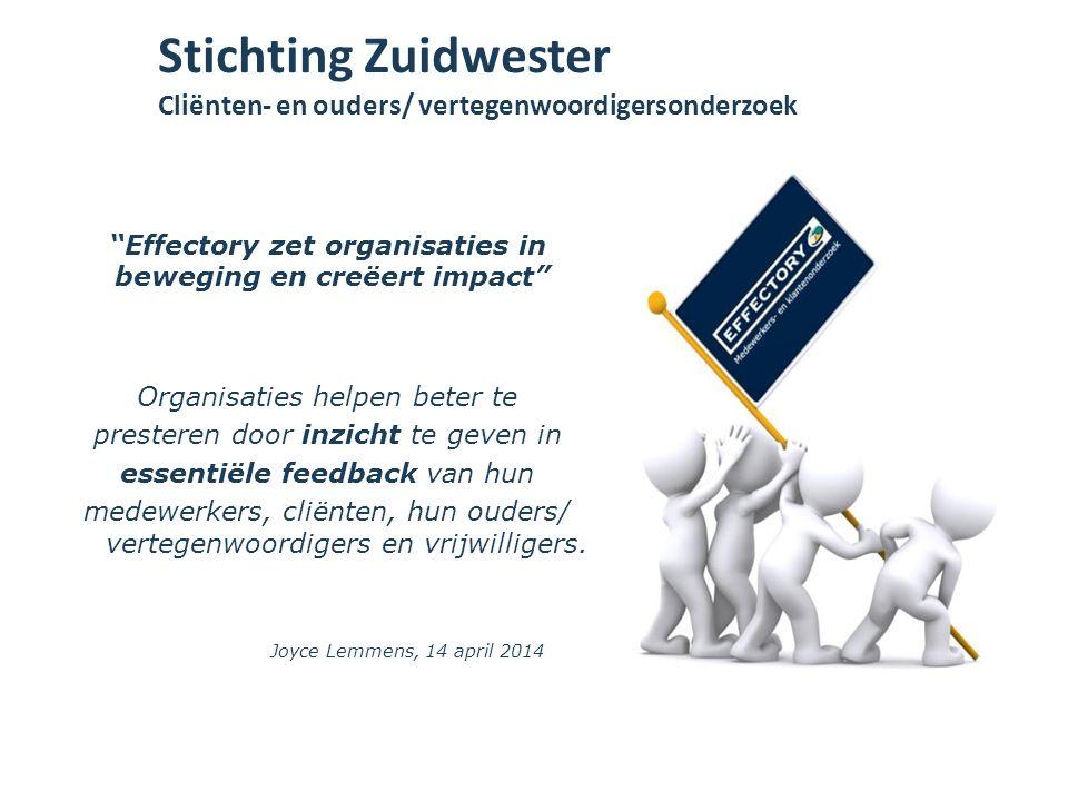 Organisaties helpen beter te presteren door inzicht te geven in essentiële feedback van hun medewerkers, cliënten, hun ouders/ vertegenwoordigers en v