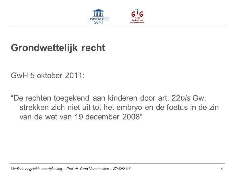 Grondwettelijk recht GwH 5 oktober 2011: De rechten toegekend aan kinderen door art.