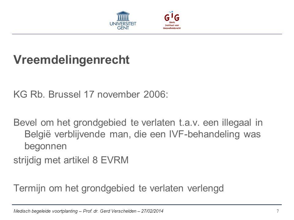 Vreemdelingenrecht KG Rb. Brussel 17 november 2006: Bevel om het grondgebied te verlaten t.a.v.