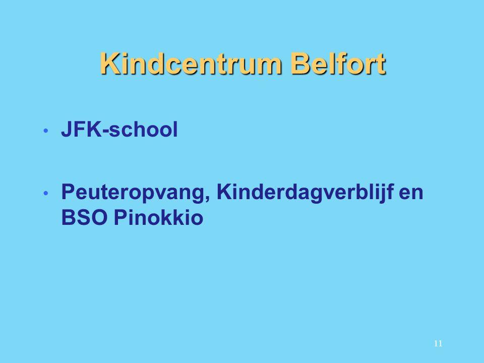 Kindcentrum Belfort JFK-school Peuteropvang, Kinderdagverblijf en BSO Pinokkio 11