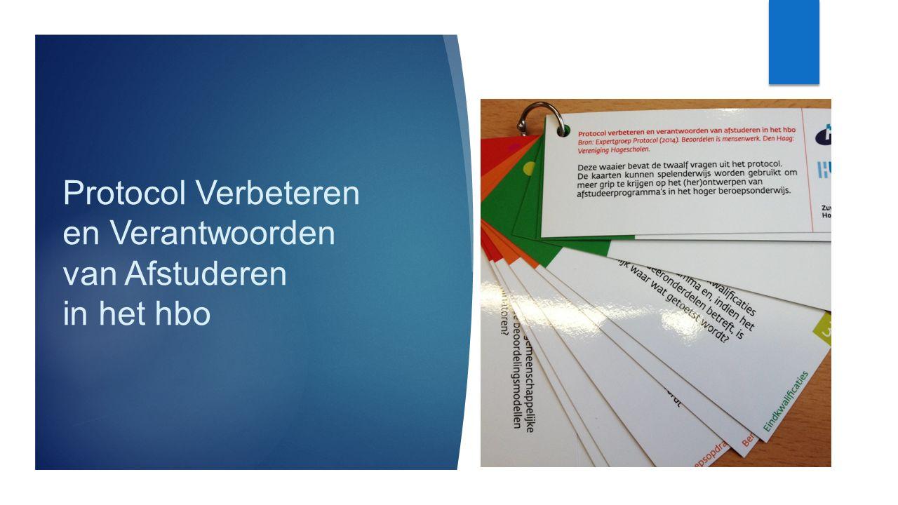 Protocol Verbeteren en Verantwoorden van Afstuderen in het hbo