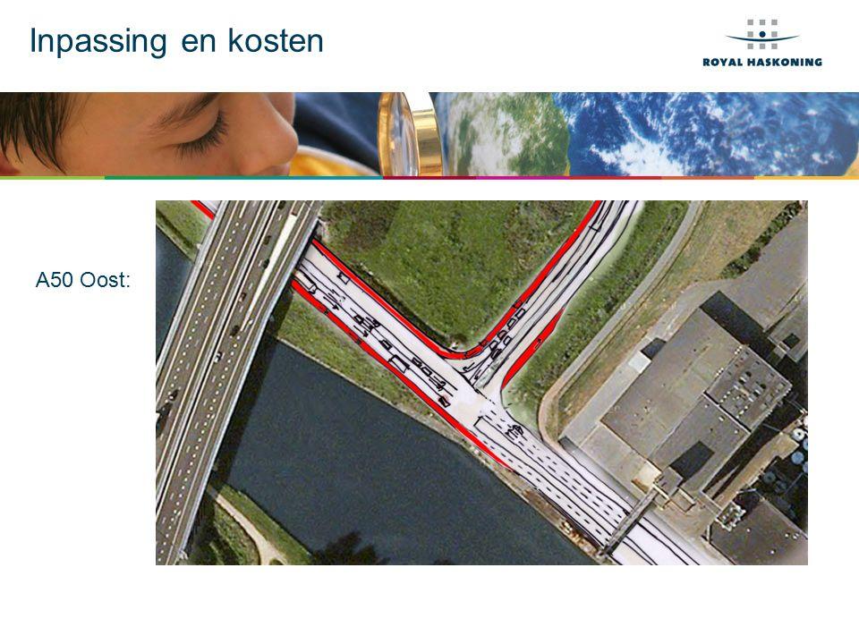 Inpassing en kosten A50 Oost: