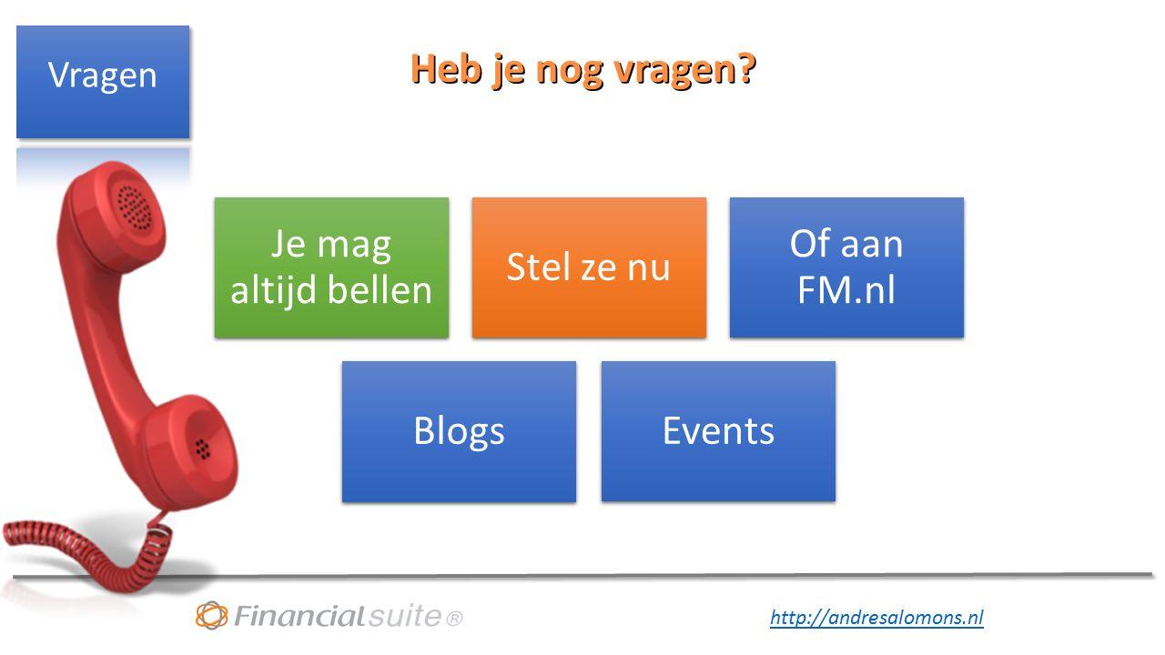 http://andresalomons.nl Heb je nog vragen.