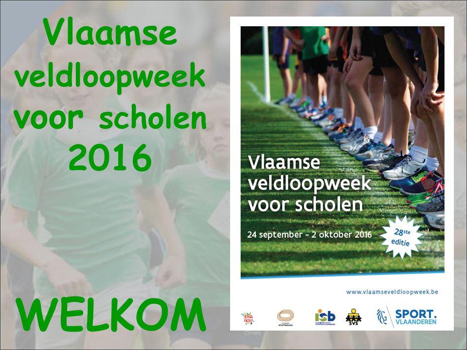 Vlaamse veldloopweek voor scholen 2016 WELKOM