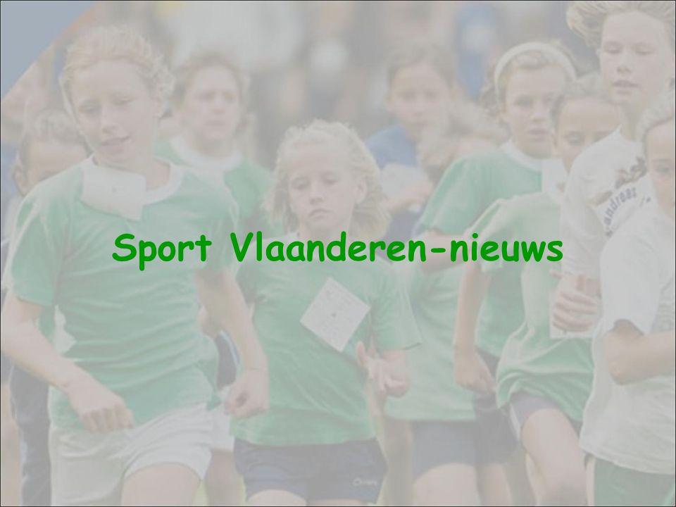 Sport Vlaanderen-nieuws