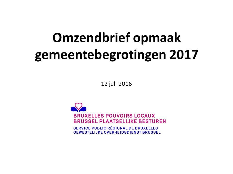 Omzendbrief opmaak gemeentebegrotingen 2017 12 juli 2016