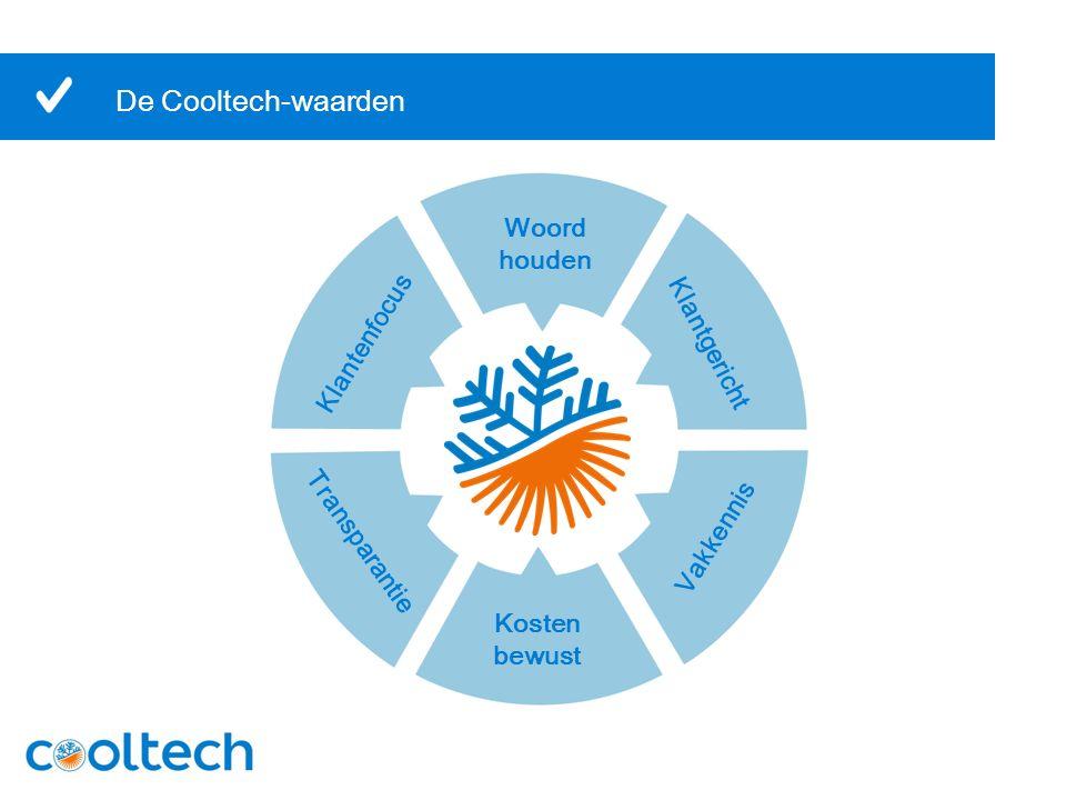 De Cooltech-waarden Woord houden Kosten bewust Klantgericht Klantenfocus Transparantie Vakkennis
