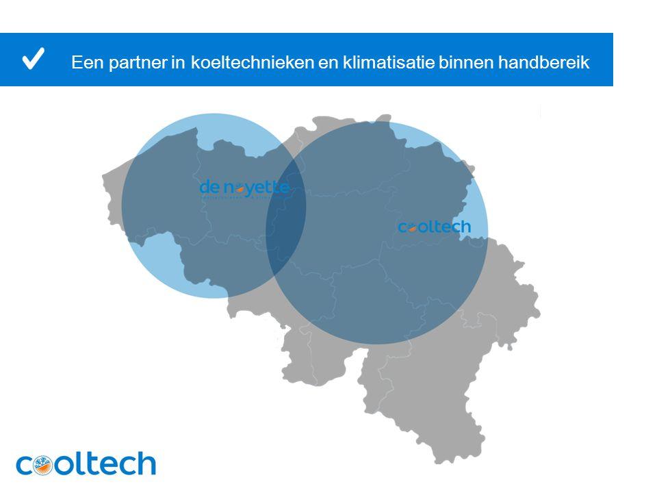 Uw partner in koeling en klimatisatie in heel België Een partner die voordenkt, meedenkt én de nodige kennis in huis heeft Eigen ontwerp- en studieafdeling