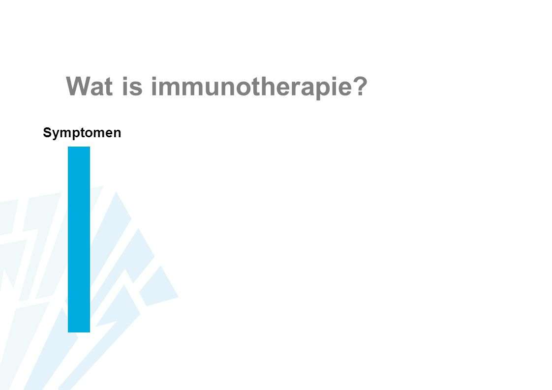 Wat is immunotherapie Symptomen
