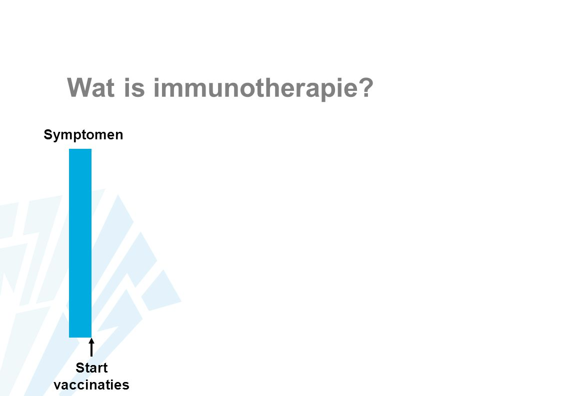 Wat is immunotherapie Symptomen Start vaccinaties
