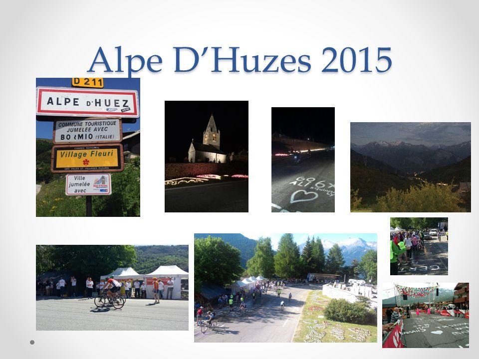 Alpe D'Huzes 2015