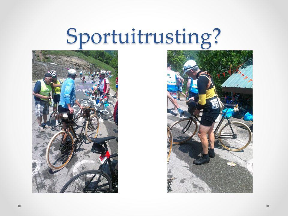 Sportuitrusting?