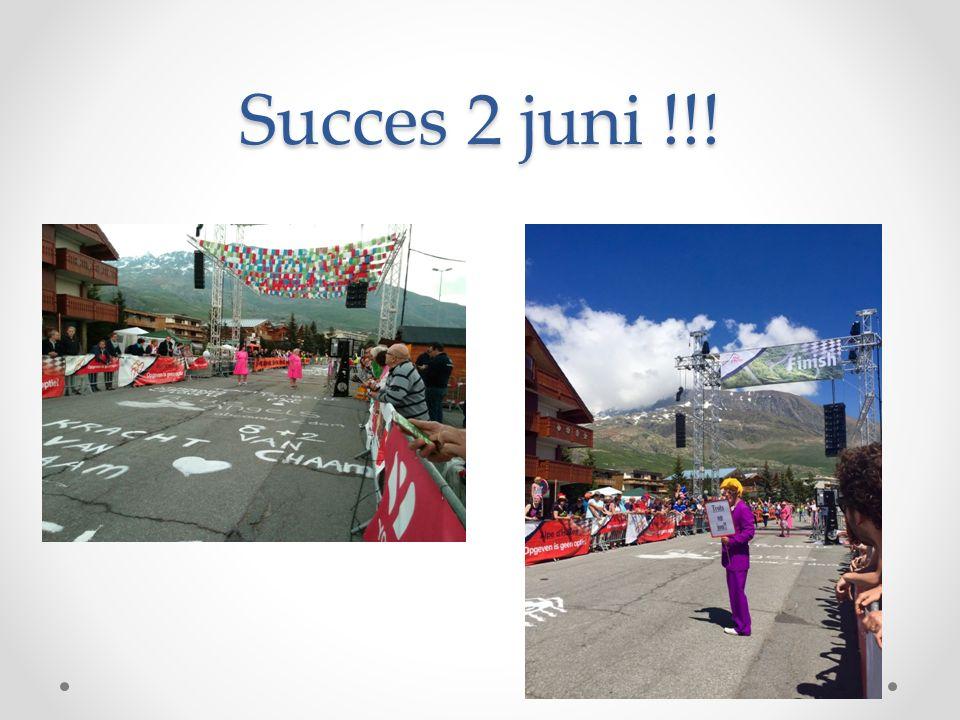 Succes 2 juni !!!