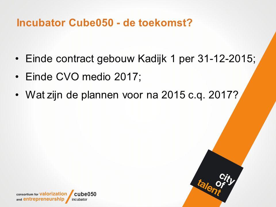 Incubator Cube050 - de toekomst.
