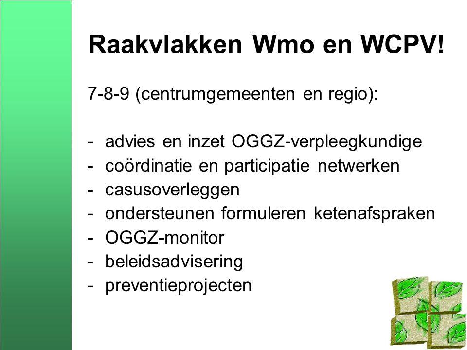 Wmo-WCPV-regeerakkoord Regeerakkoord Balkenende IV Preventie: - streven naar lagere gezondheidskosten en minder grote verschillen in levensverwachting op basis van sociaal economische achtergronden - ontwikkelen van nieuwe verzekeringsvormen gericht op gezonde leefstijl en preventie