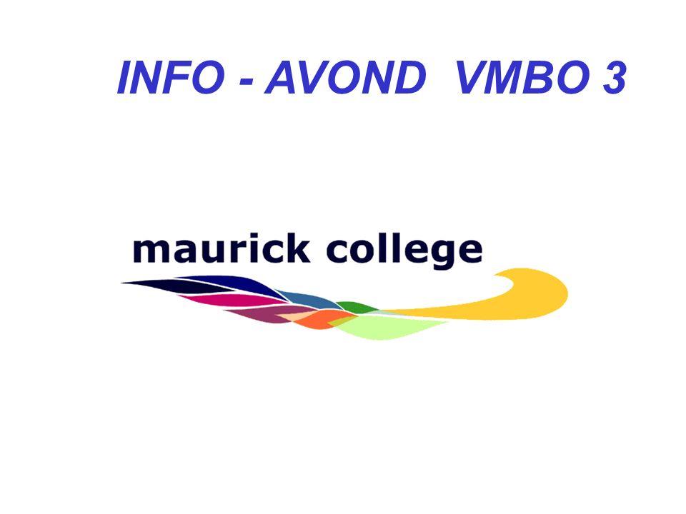 Informatie-avond VMBO-T3 Voorbereidend Middelbaar Beroeps Onderwijs Theoretische leerweg