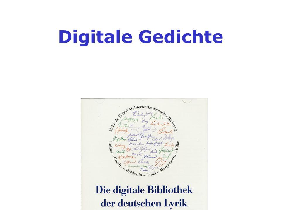 Digitale Gedichte