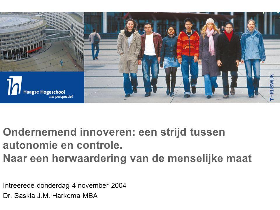 Tabel- Innovatie-intensiteit MKB 1999-2003