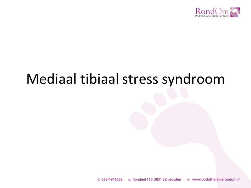 Mediaal tibiaal stress syndroom